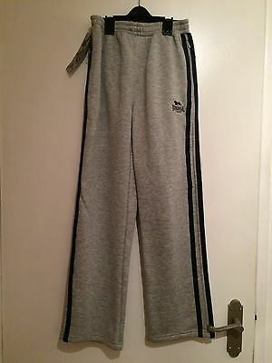 Lonsdale Kids Jogging Bottoms Age 9-10yrs BNWT