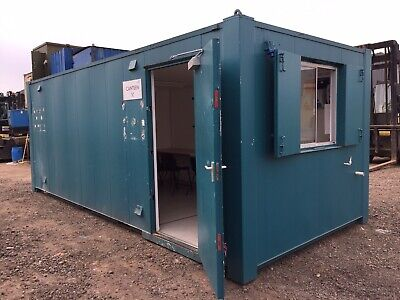 Site Office Canteen Drying Room Anti Vandal Steel Portable Building