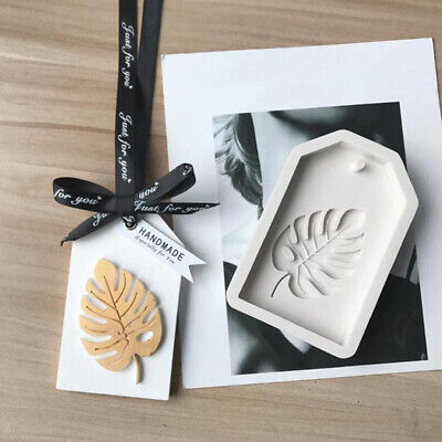 3D Leaf Silicone Mold for Cake Decors Chocolate Aromatherapy Gypsum Clay Art