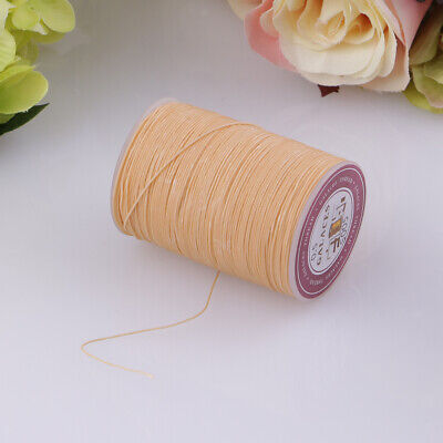 Waxed Thread 0.5mm 130m Polyester Cord Sewing Stitching Leather Craft Bracelet