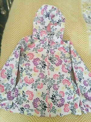 Girls Name It, Spring/Summer Rain Coat, Size Age 6