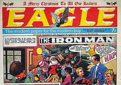 EAGLE - CHRISTMAS 1968 ISSUE !! 28th DECEMBER 1968 - RARE & COLLECTABLE !! VGC