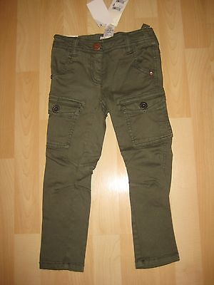 Girls Aged 4 Years Khaki Skinny Denim Trousers from Next