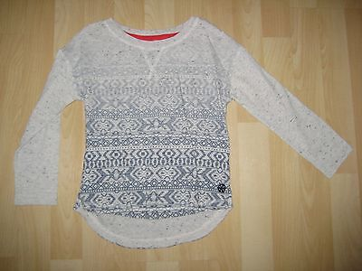 Girls Aged 4 Years Cream / Blue Top from Next