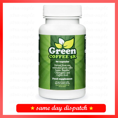 Green Coffee 5K Fat Burning Body Detox Beauty Improvement