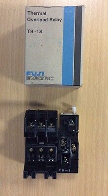 Fuji Electronics TR-1S Thermal Overload Relay 4-6A