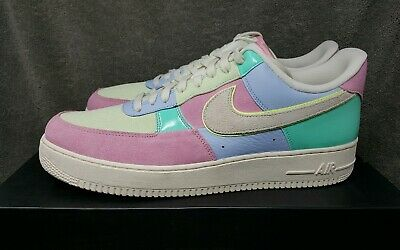 Nike Air Force 1 Low '07 QS Easter Ice Blue Sail Mens Size 11 (AH8462 400) New