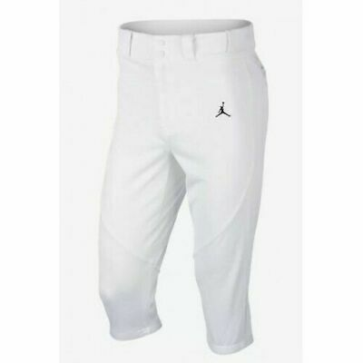 f2030416a7dd60 NIKE JORDAN JETER RE2PECT Baseball Pants White 885174 103 Men s Size ...