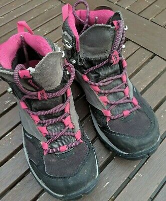 3a6069b05 QUECHUA MH500 GIRL S mid waterproof mountain hiking boots