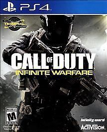 Call of Duty Infinite Warfare (PS4) COMPLETE VERY GOOD SHIP FAST