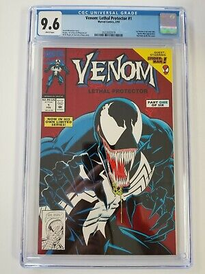 Venom: Lethal Protector #1 (1993) CGC 9.6 White Pages Michelinie - Bagley Spider
