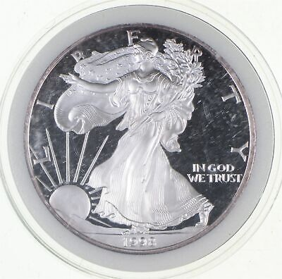 PROOF - NICE - 1998-P American Silver Eagle - DEEP CAMEO Proof - Rare *796