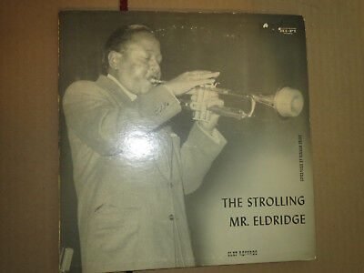 "33RPM 10"" Clef The Strolling Mr. Eldridge by Granz nice visual mild E- V+ E-"