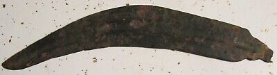 """Celtic Sica ( knife ) with makers marks ~ 10"""" long"""