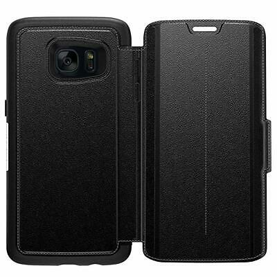 Brand New Genuine OTTERBOX Strada Folio Case - SAMSUNG Galaxy S7 Edge - Black