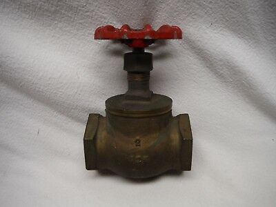 Milwaukee Valve Company Brass Globe Valve Fig 501 125-Swp 200 Wog