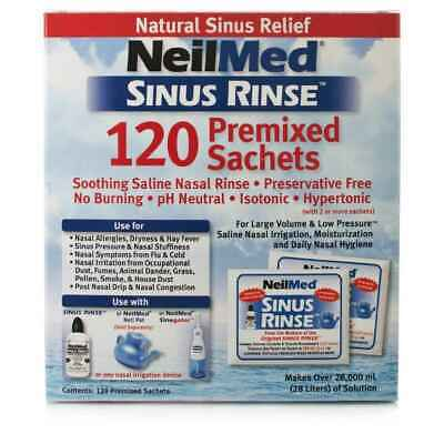 NeilMed Sinus Rinse 120 Premixed Packets