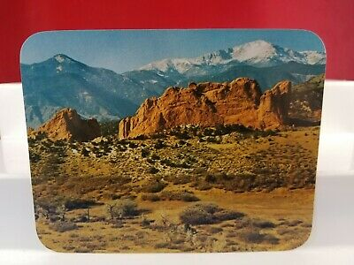 Vintage large Postcard Garden of the Gods. Colorado Springs, Co Lot(2-8)