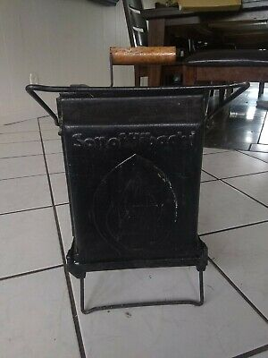 Lodge Cast Iron Sportsman's Grill Charcoal Tailgate Outdoors