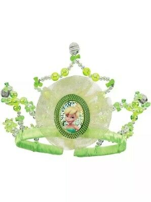 FCR6 golden crown for Princess and Frog Tiana Costume tiara pearl fairy cosplay