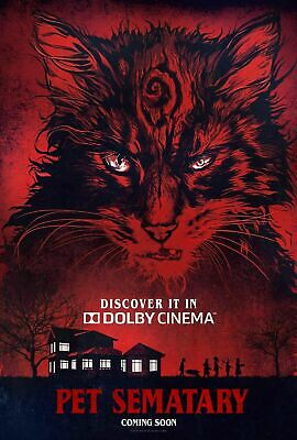B-341 Pet Sematary Limited Edition Art Screen Movie 18 24x36 27x40 Fabric Poster