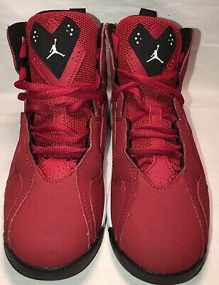 finest selection 6be02 308c6 Nike Air Jordan True Flight BP Gym Red Black~White 343796~610 Size