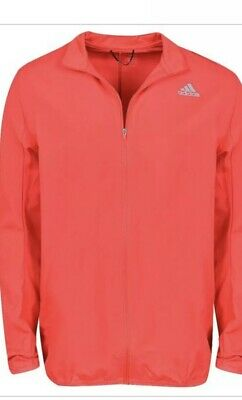 New Adidas- Response Wind Jacket Hi-Res Red Size 2XL