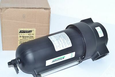 NEW SPEEDAIRE 4ZL19 250 psi Standard Oil Removal Filter