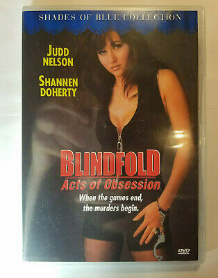Blindfold: Acts of Obsession Rare Region Free DVD Shannen Doherty's Erotic Film