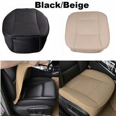 PU Leather Deluxe Car Driver Seat Cover Pad Protector Cushion Universal US NEW