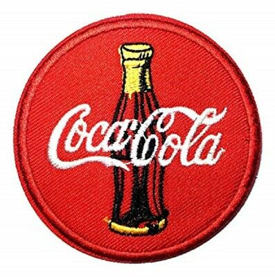 Iron On Embroidered Coca Cola Coke Soda Drink Pepsi Jacket Jeans Jersey Patch