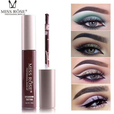 MISS ROSE Tint Eye Brow Tattoo Waterproof Long Lasting 72H Eyebrow Cream Makeup