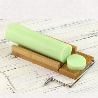Wood Stainless Steel Soap Cutter Soap Making Cutting Tools with Wire Slicer