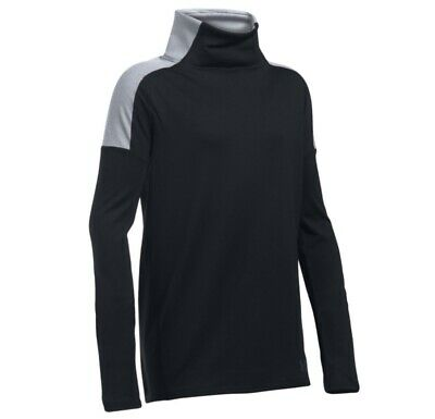 Under Armour Girls Junior Cozy Coldgear LS Top - Youth X-Small