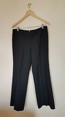 Womens Black Trousers Size 14 French Connection <CX2090