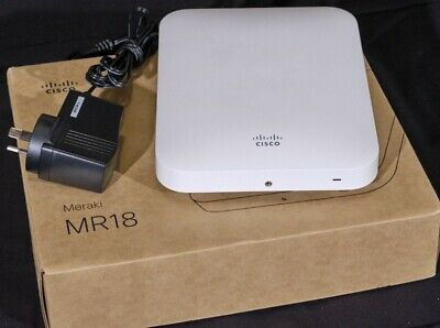 Cisco Meraki MR18 Wireless Access Point + 240V Power Supply