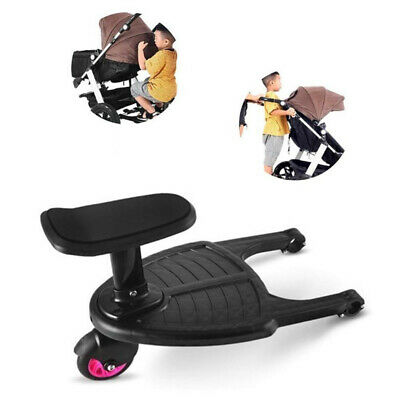 Children Hanging Plate Stroller Pedal Auxiliary Second Sitting Seat Cart Toy Hot