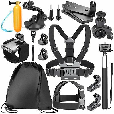Accessori per per GoPro Hero 7 6 5 4 3 + 3 2 1 Hero Session 5 Black EK7000,