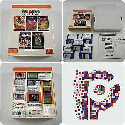 Arcade Action A Acid Software Game for the Commodore Amiga tested & working