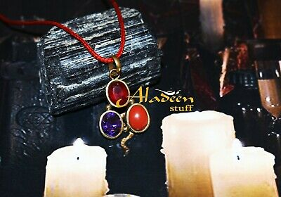 Haunted WISH GRANTING NECKLACE. 7 BEINGS IN ONE. FREE magic ring