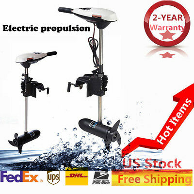 SO300-24V 160LB ELECTRIC Boat Trolling Motor With Speed