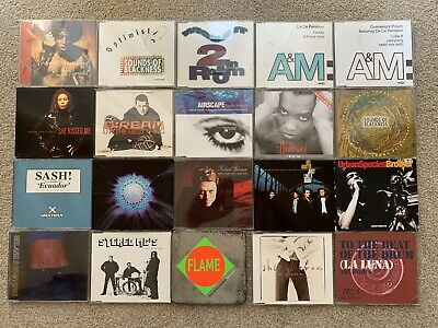 99 CD Single Job Lot Sale. Mixture Of 80's & 90's. Great Condition