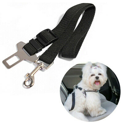 Adjustable Harness Lead Dog Pet Safety Seat Belt Restraint Strap for Car Vehicle