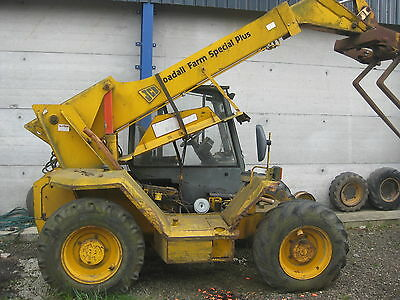 Jcb Loadall 525-67 Farm Special Breaking For Spares