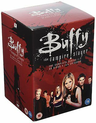 Buffy The Vampire Slayer  Complete Series 1-7 Dvd Boxset Region 2 New & Sealed