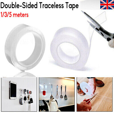 Multi-function Double-Sided Adhesive Nano Tape Washable Removable Sticky Tapes