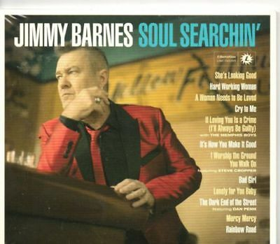 Jimmy Barnes - Soul Searchin' (Deluxe 2CDs) New & Sealed - Digipack