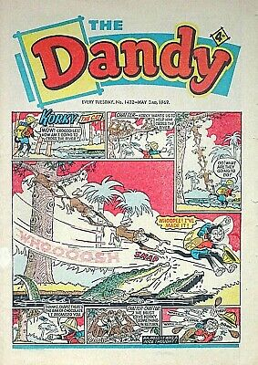 THE DANDY - 3rd MAY 1969 (29 April - 5 May) SUPERB 50th BIRTHDAY GIFT !!..beezer