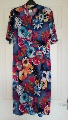 Kim & Co (QVC) Ladies Chinese Style Floral Dress