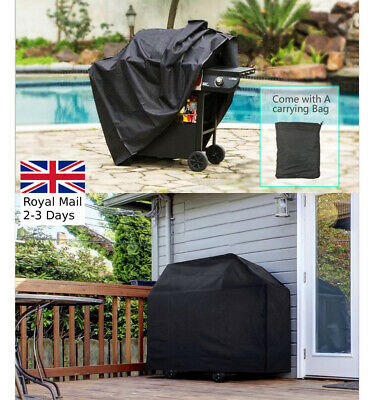 S/M/L BBQ Cover Heavy Duty Waterproof Rain Snow Barbeque Grill Protect BBQ